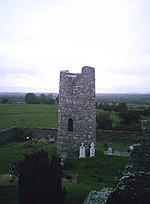 Photo of Oughterard Irish Round Tower, County Kildare, Ireland