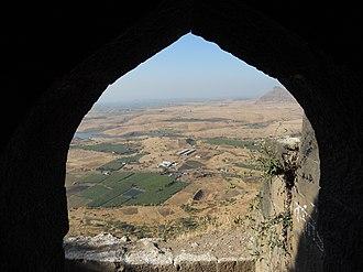 Ramsej - Image: Outside view by window, Ramshej fort