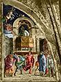 Ovetari, san giacomo 02, Predica di san Giacomo di Andrea Mantegna.jpg