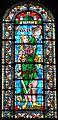 Périgueux Saint-Front vitrail face autel Vierge.JPG