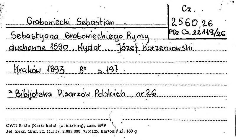 File:PL Sebastyana Grabowieckiego Rymy duchowne.djvu