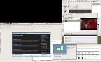TrueOS - Image: PV BSD 10.1.2 MATE Screenshot