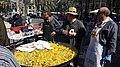 Paella a la Plaça de la Reina, Falla Tio Pep 11.jpg