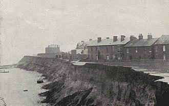 Pakefield - Image: Pake erosion 1