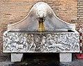 Palazzo apostolico, vasca con sarcofago romano di caccia calidonia - 2.jpg