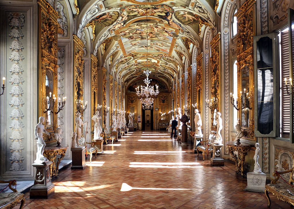 > Vieux Rome : Intérieur du Palazzo Doria Pamphilj à Rome – Photo de Sailko