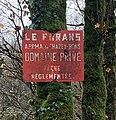 Panneau pêche interdite, Furans, à Pugieu (cropped).jpg