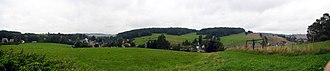 Lusatia - A view of the Lusatian Highlands
