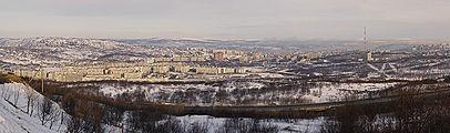 Panorama of Murmansk from Omni Hotel Murmansk edit.jpg
