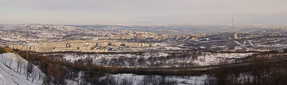 Panorama of Murmansk from Omni Hotel Murmansk edit.jpg
