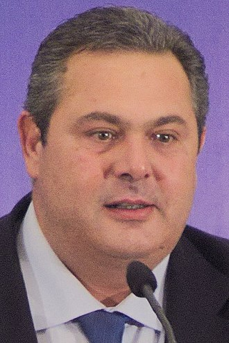 2019 Greek legislative election - Panos Kammenos