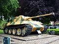 Panther D tank, Wilhelminapark, Breda, pic 2.JPG
