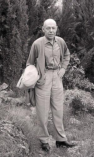 Jean Dubuffet - Jean Dubuffet, 1960.