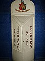Parish of Berkswell - City of Coventry Boundary Marker Coventry Transport Museum (2).jpg