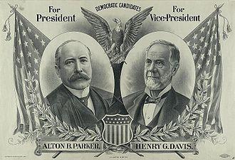Alton B. Parker - Parker/Davis campaign poster