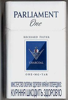 Parlament One cigarettes.jpg