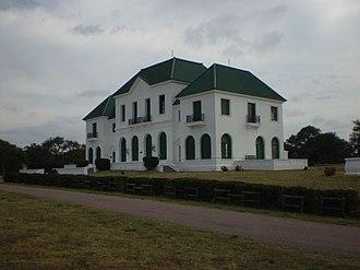 Semi-arid Pampas - The former Roca-Luro Estate, now part of Parque Luro Natural Preserve, La Pampa Province.