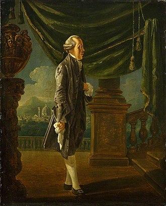 John Ker, 3rd Duke of Roxburghe - John Ker, 3rd Duke of Roxburghe by Thomas Patch (circa 1761)