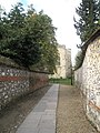 Path from Paternoster House to Winchester Cathedral - geograph.org.uk - 1546363.jpg