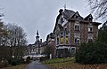 Path leading to the front of Sanatorium du Basil, Stoumont, Belgium (DSCF3485).jpg