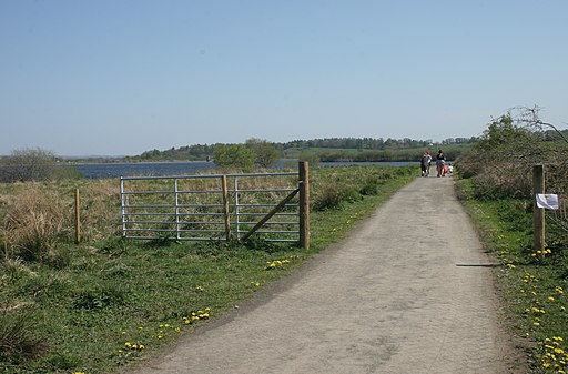 Path round Balgray Reservoir (geograph 4943515)