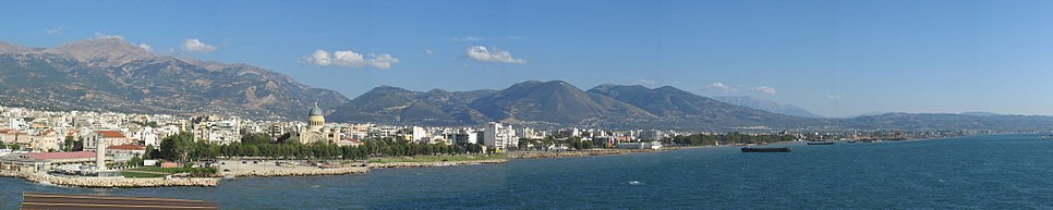 Patras from Ferry 2003