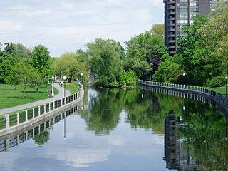 Patterson Creek (Ottawa) river in Canada