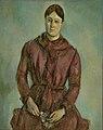 Paul Cézanne - Madame Cézanne em Vermelho.jpg