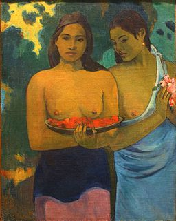Paul Gauguin - Two Tahitian Women