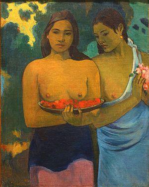 Two Tahitian Women