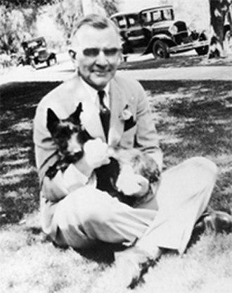 Paul Shoup - Paul Shoup in Los Altos circa 1920