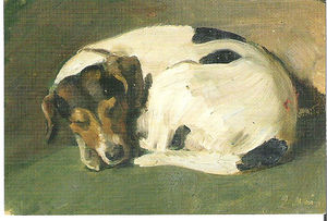 "Paul Raud, ""A Sleeping Dog"""