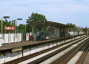 Paulina station - Paulina prior to reconstruction