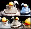 Peach Melba Recreated at The Savoy Hotel by Martin Chiffers Executive Pastry Chef 2012.jpg
