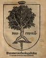 Pedro Ciruelo (1519) Hexameron theologal sobre el regimiento medicinal contra la pestilencia.png