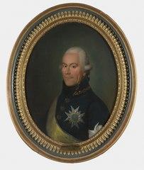 Portrait of Peter Ulrik Lilliehorn, 1752-1806