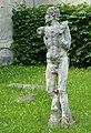 Pernštejn, okres Brno-venkov, 2013, sochy na nádvoří (6).JPG