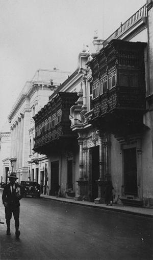 Peru 34765 Palacio De Torre Tagle In