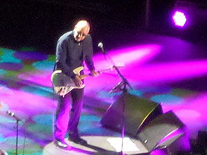 Pete Townshend discography - Pete Townshend with The Who at Manchester Arena in 2014