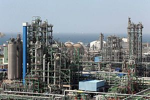 Petroleum industry in Iran - Image: Petrochemical Complexes in Asaluyeh (8)