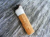 Niedopalek papierosa