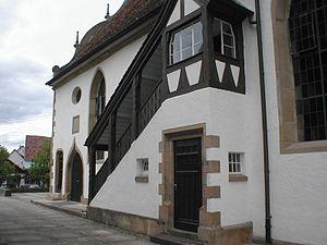 Pfaffenhofen, Baden-Württemberg - Image: Pfaffenhofen kirchemporenaufstieg