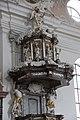 Pfarrkirchen, Wallfahrtskirche Gartlberg, pulpit 004.JPG