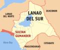Ph locator lanao del sur sultan gumander.png