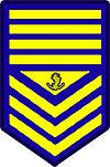 Philippine Coast Guard Senior Chief Petty Officer Rank Insignia