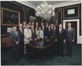 Photograph of 1987 Cabinet - Class Photo - NARA - 198586.tif