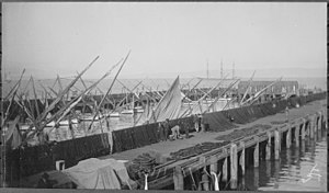 Fisherman's Wharf, San Francisco - Fisherman's Wharf, ca. 1891