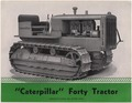 "Photograph with caption ""'Caterpillar' Forty Tractor."" - NARA - 282478.tif"