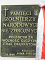 Pińczów church memorial plaque - 01..JPG