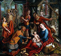 Pieter Aertsen: The Adoration of the Magi